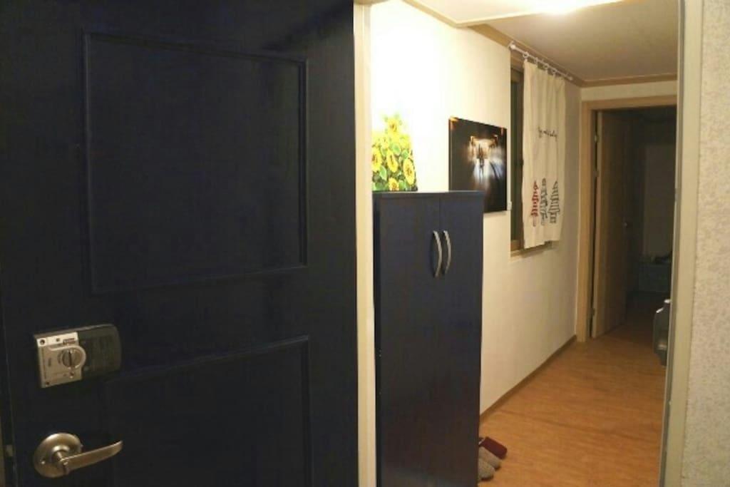 Front door of guest house:)