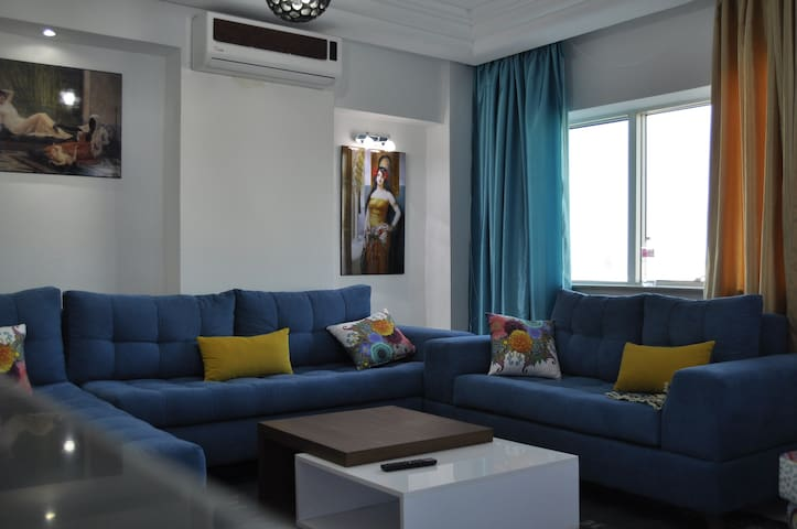 Entire home/ Apartment (S+3) at  Ennasr, Tunis - Ariana - Apartment