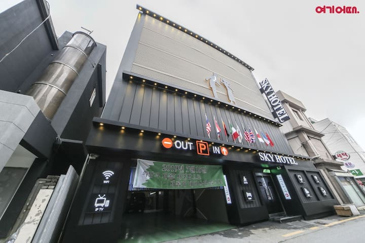 Sky Motel goodstay in Wonju City