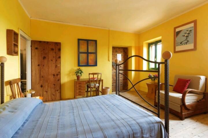 Cascina Galoppa casa per tutti: Room Monte Rosa