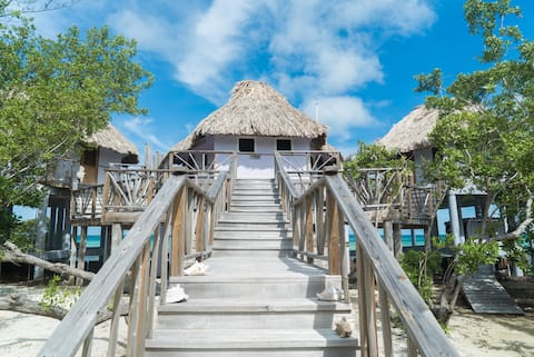 Overwater Bungalow on Thatch Caye