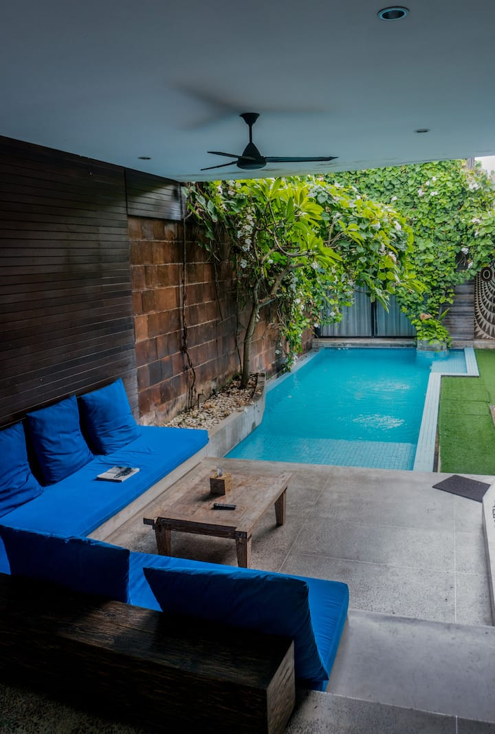 Explore South Kuta from This Modern Chic Vila bali