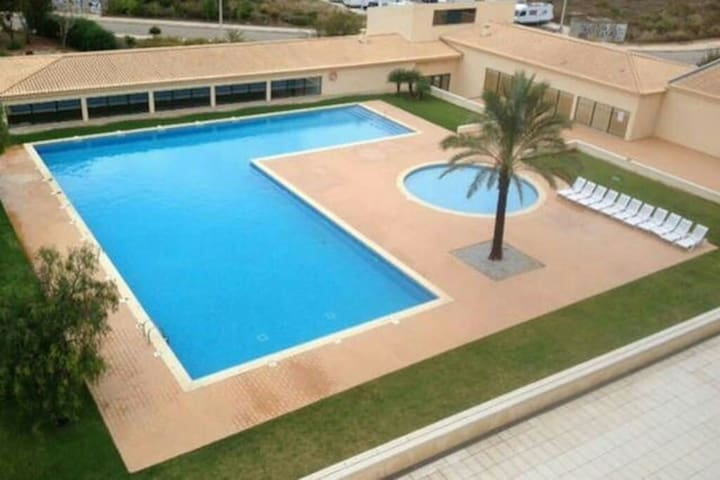 Adults and children swimming pool