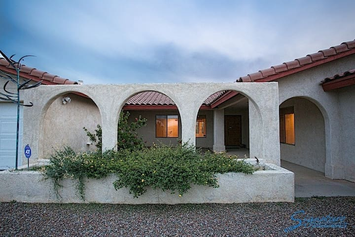 Amazing Villa Style 3 bedroom, 2 bath home with incredible mountain views!!!!!!! - Tucson - Hus