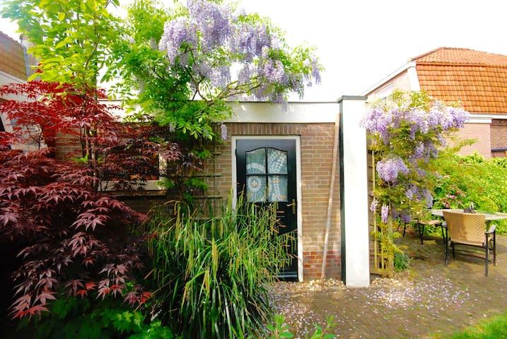 Sunny garden cottage