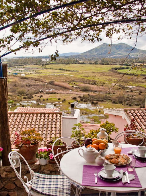 Terrace of Casa Azzurra