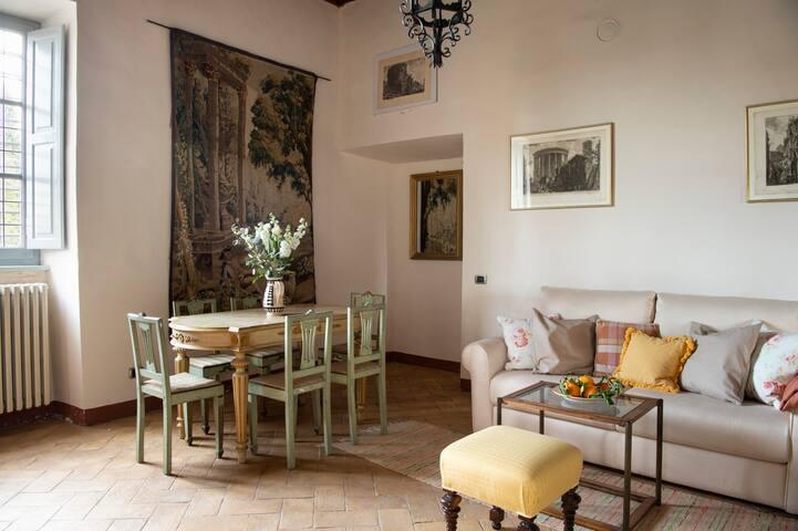 la guest-house de San Michele in Teverina