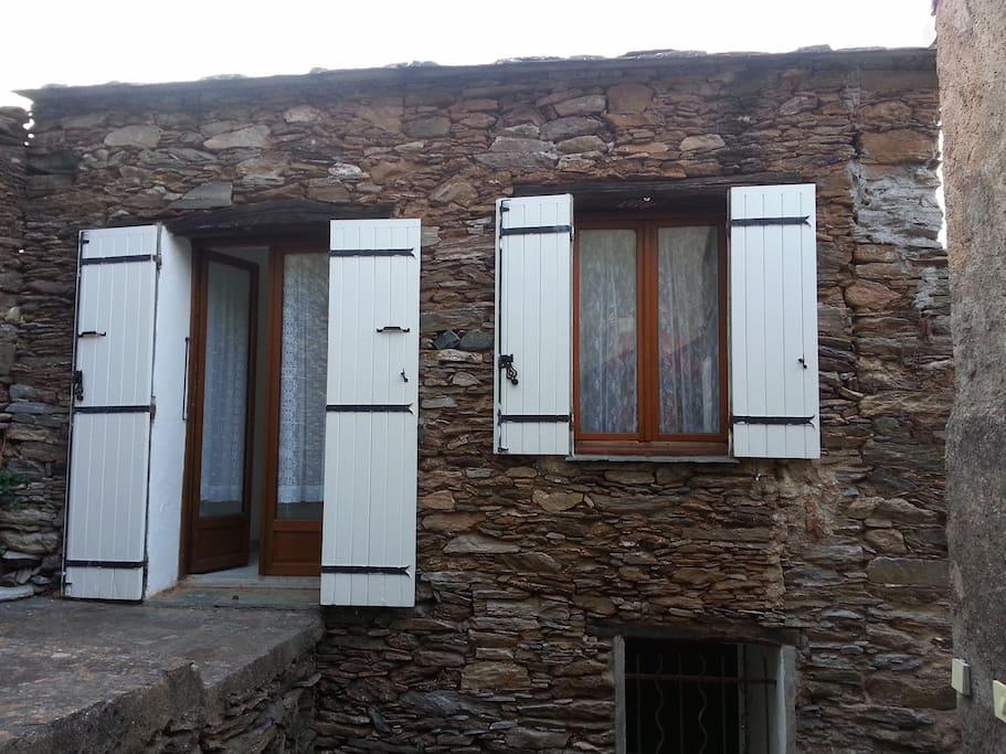 Porte Fenêtre façade arrière