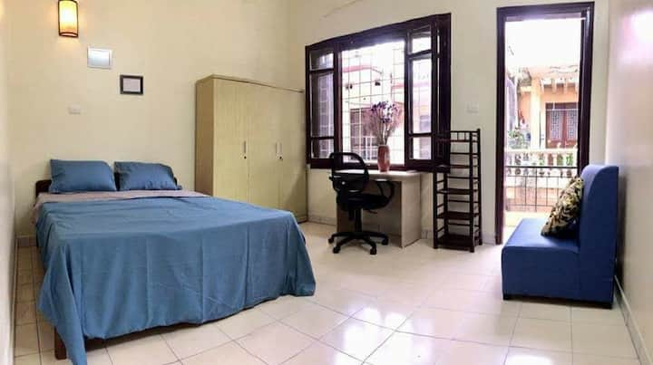 Bright room in central area/near Lotte*free washer