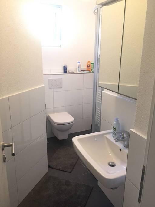 Typisches Badezimmer