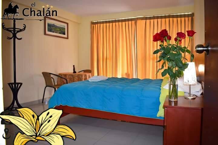 Habitación privada cama de plaza y media sin desay
