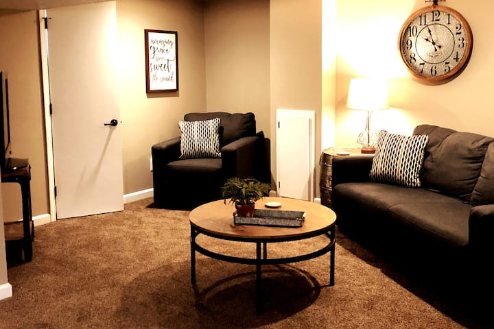 Urban WalkOut 1Bdrm Basement Apt w/Full Kitchen