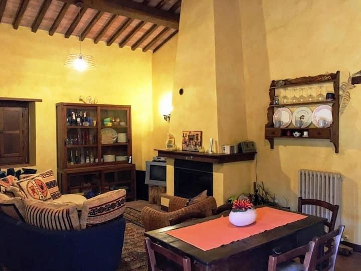 La Casa nel Bosco tra Umbria e Toscana