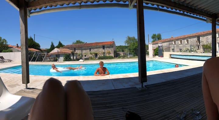 La Grange at La Garenne gites