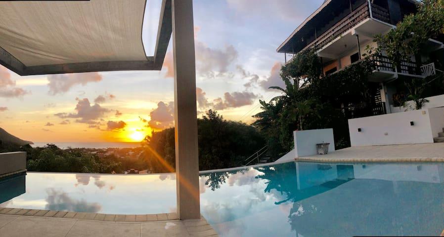Ocean View Studio Apartment