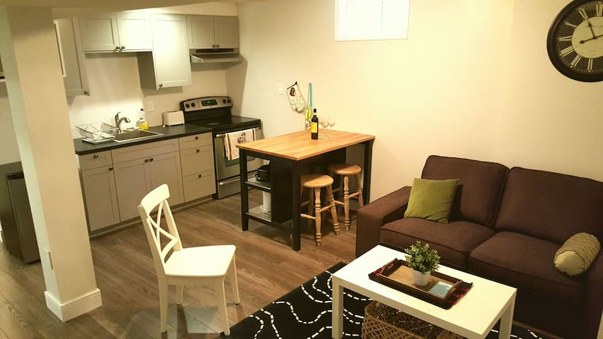 Private 2 Bedroom Bsmnt Apartment - Mississauga - Talo