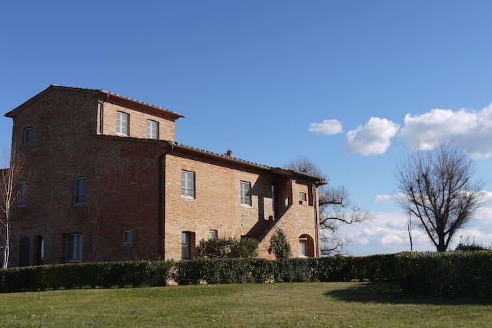Elegante Casa di Campagna e Piscina - Badicorte-Marciano della Chiana-Monte San Savino - Apartamento