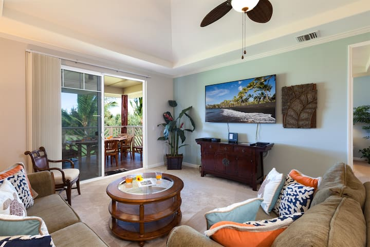 M33 Waikoloa Beach Villas.  Includes the Hilton Waikoloa Pool Pass for 2019 and 2020