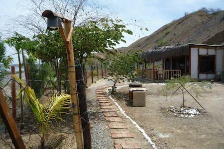 Cabaña en la playa - Punta Sal - กระท่อม