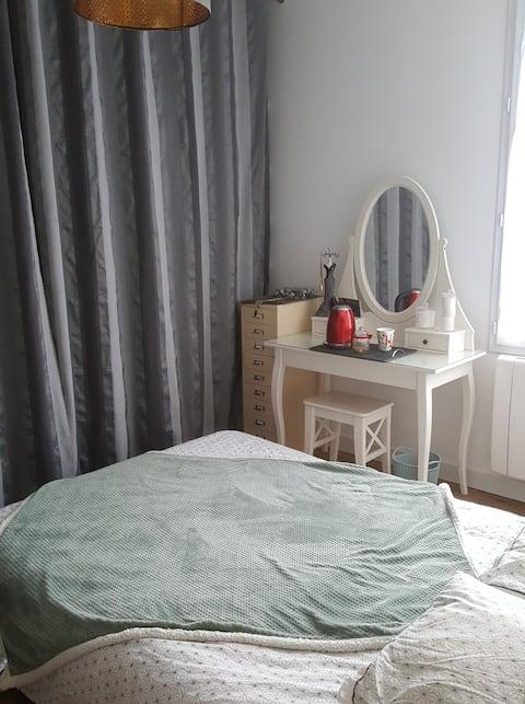 Chambre dans maison à saint jean de braye.