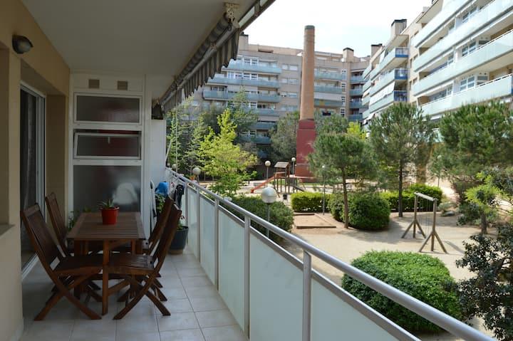Piso Terrassa centro con terraza-zona comunitaria