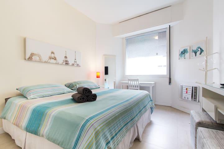 2 chambres à copacabana.