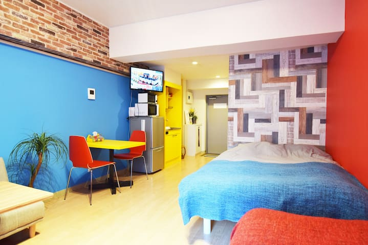 NEW50%OFF BIG STUDIO Shinjuku 5mins - Shibuya-ku - Apartament