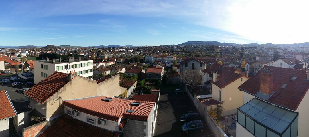 Appartement calme & lumineux ( prox gare ) - Clermont-Ferrand