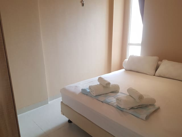BEST VALUE 2BR for 5 people, Flat in Mangga Besar