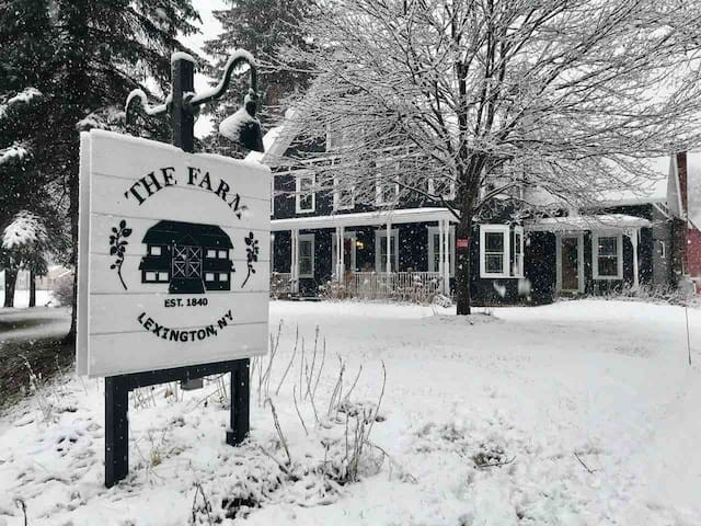 The Farm Lexington NY, Elegant Catskills Retreat