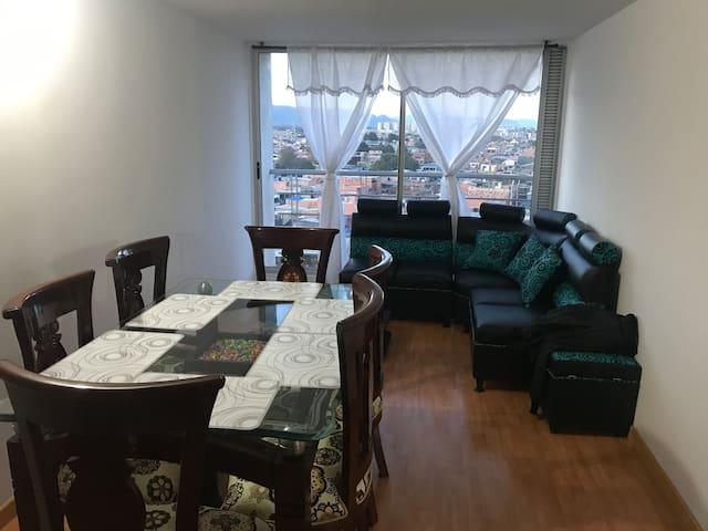 Hermoso y Cómodo Apartamento