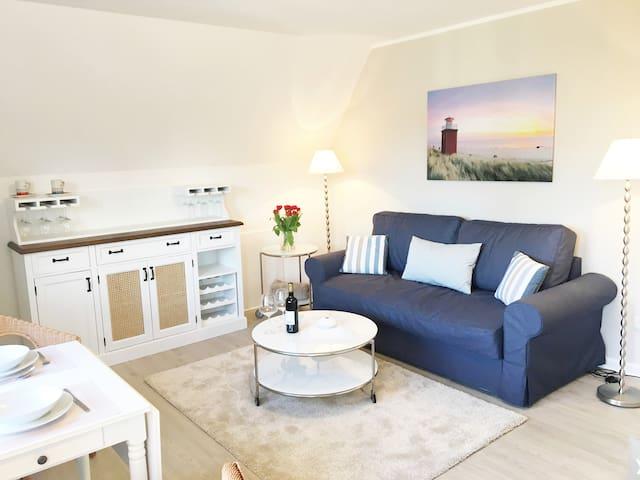 Zentral, gemütlich und strandnah - Wyk auf Föhr - Apartamento