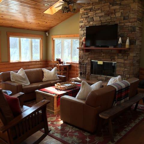 Viewcrest Cabin - Delavan - Casa