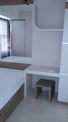 Apartemen Silkwood 1br alam sutera - Serpong Utara - Daire