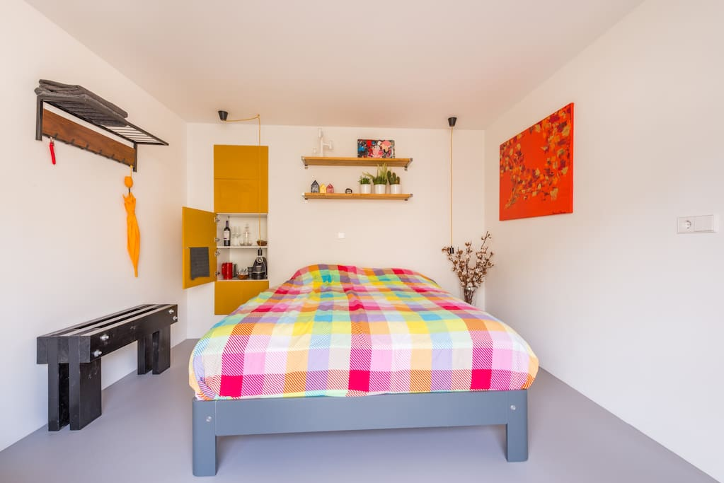 Guestroom: auping bed