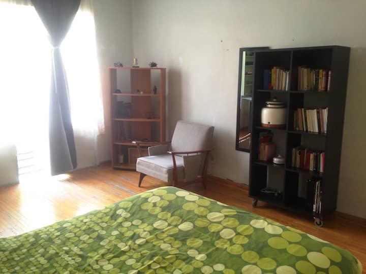 Belle chambre avec son balcon in Condesa, CDMX