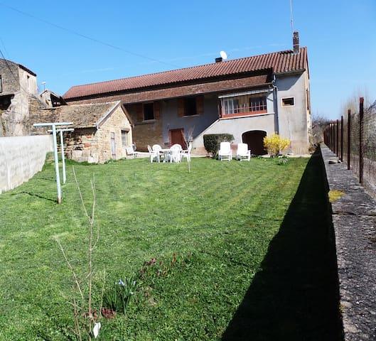 maison de charme dans le clunysois - Lournand - Haus