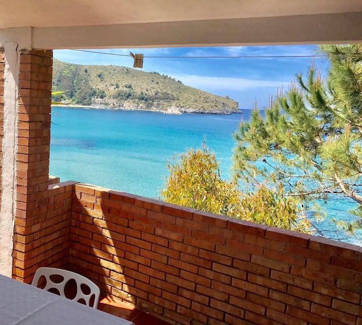 Bilocale VistaMare PalinuroCentro-30mt da spiaggia