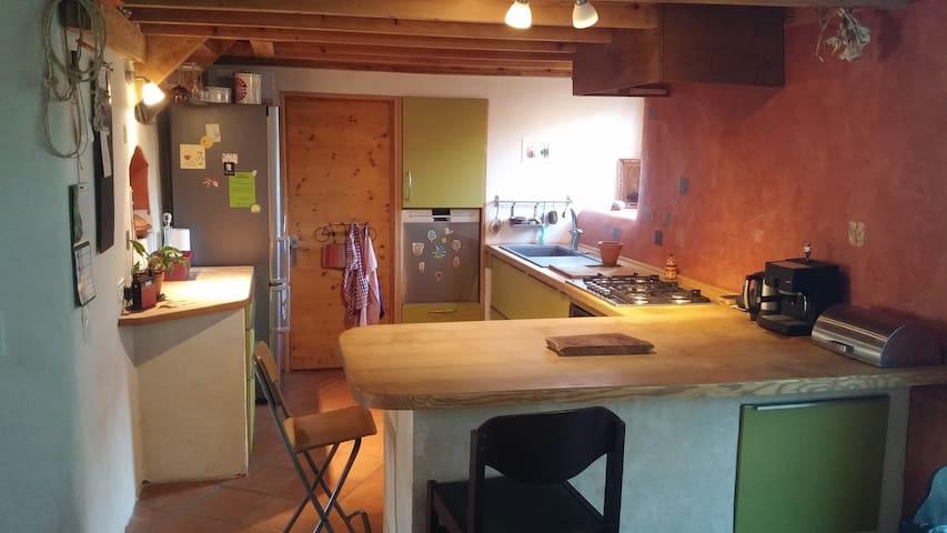 Chambre d'hôtes chez l'habitant à Recoubeau - Recoubeau-Jansac - Dům pro hosty