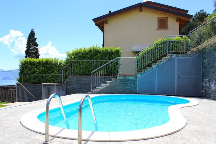 LAKE VIEW APARTMENT LE VELE-SAN SIRO-LAKE COMO - Santa Maria Rezzonico - อพาร์ทเมนท์