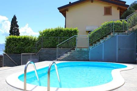 LAKE VIEW APARTMENT LE VELE-SAN SIRO-LAKE COMO - Santa Maria Rezzonico