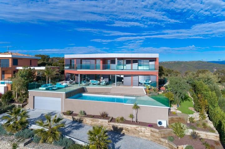 Villa Moderne Neuve 5* - Vue mer PANORAMIQUE