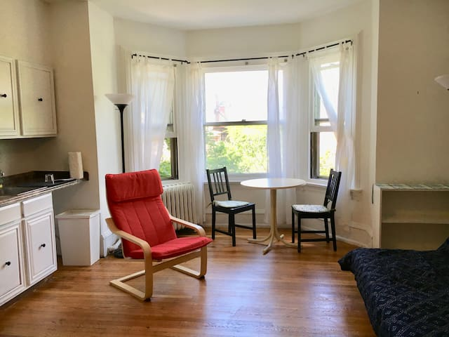 Near Penn, Private Studio Apt in University City