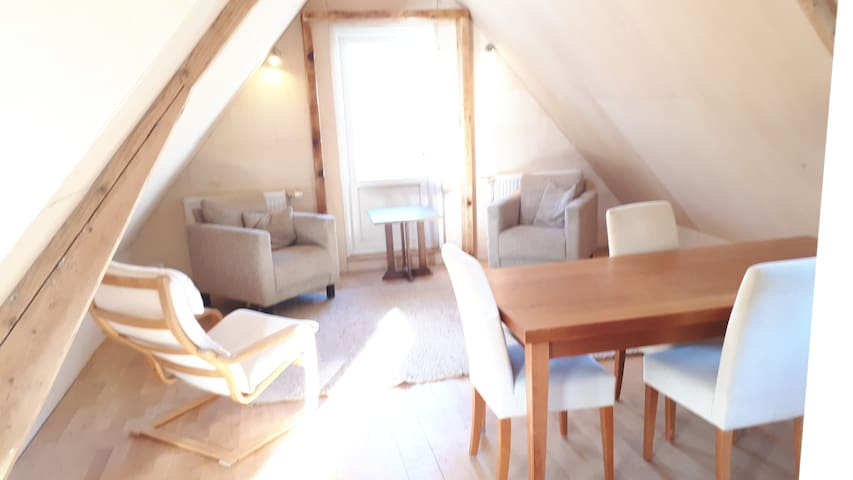 Intimate, beautiful apartment for max. 3 persons