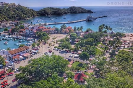 Bahías de Huatulco Río Copalita 6 HUÉSPEDES