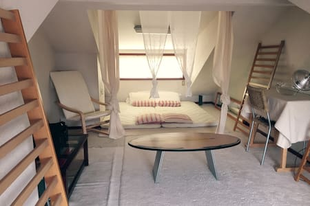 NEW spacious loft - very trendy, central location! - Setagaya-ku