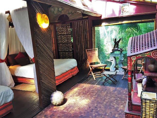 Cabaña del Sol: Jardín Secreto Resort Holístico.
