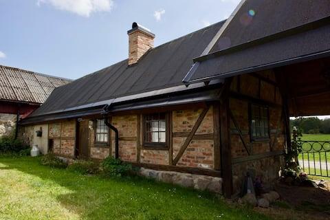 Dom rustykalny szwedzki południowy