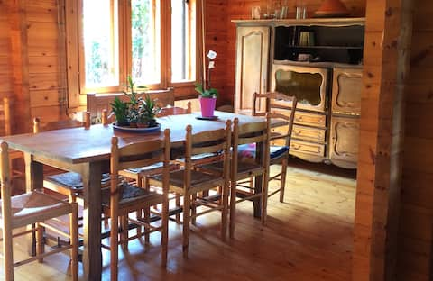 Grande maison familiale au calme avec jardin