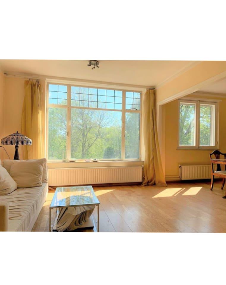 living room (updated, photos follow)